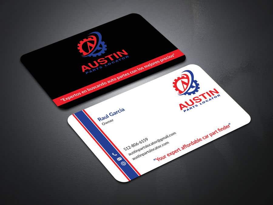 Konkurrenceindlæg #24 for Design Business Cards For Car Parts Company