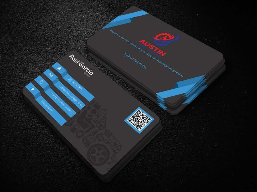 Konkurrenceindlæg #350 for Design Business Cards For Car Parts Company