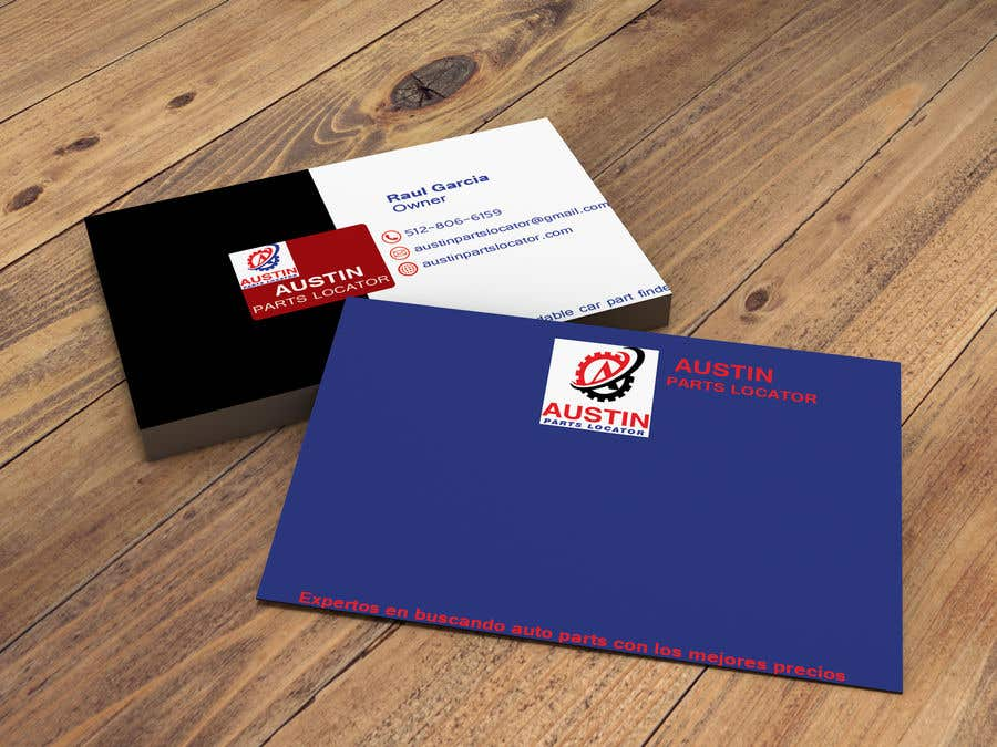 Proposition n°157 du concours Design Business Cards For Car Parts Company