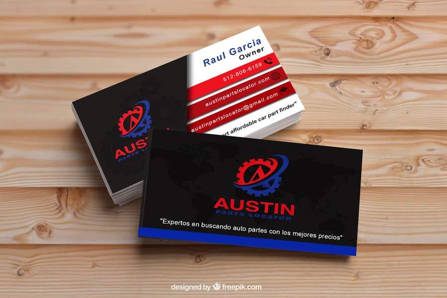 Proposition n°344 du concours Design Business Cards For Car Parts Company