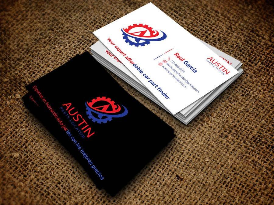 Konkurrenceindlæg #212 for Design Business Cards For Car Parts Company