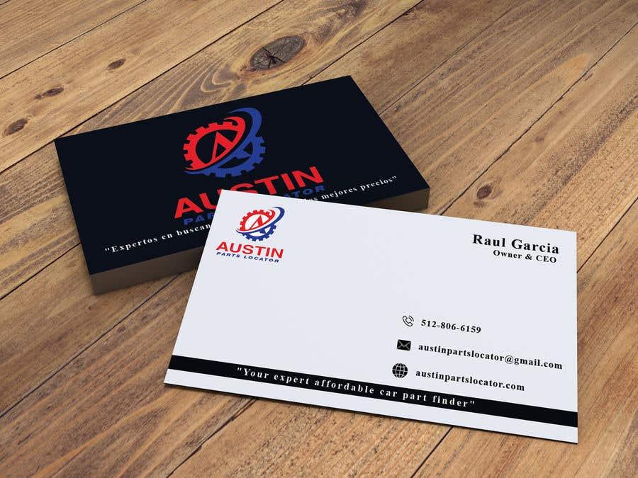 Proposition n°373 du concours Design Business Cards For Car Parts Company