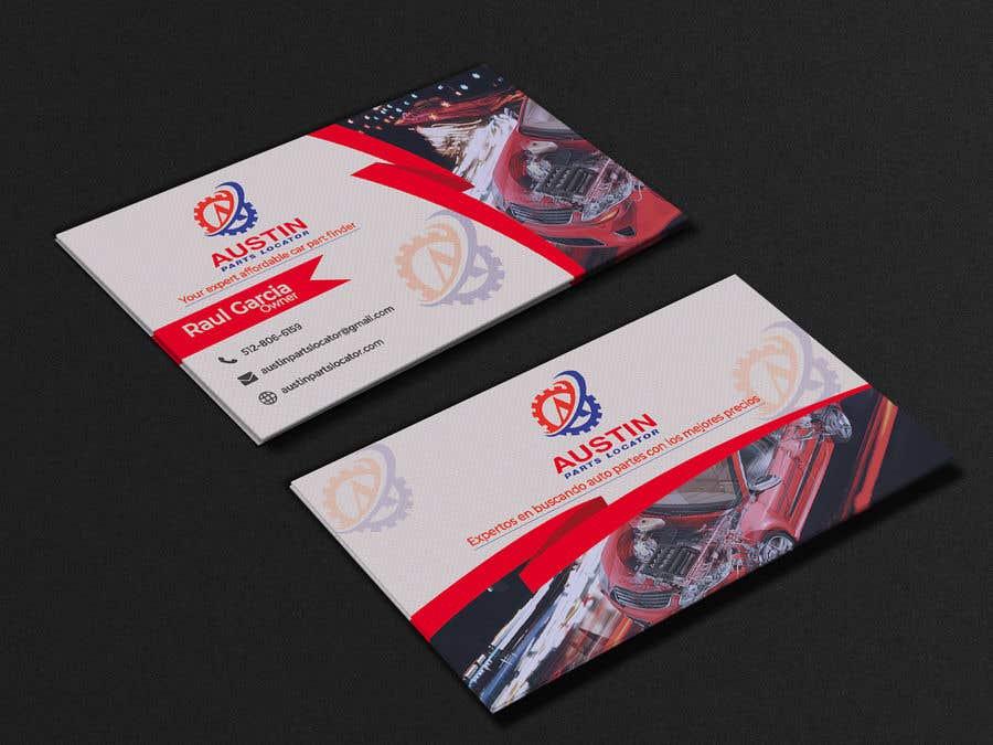 Konkurrenceindlæg #361 for Design Business Cards For Car Parts Company