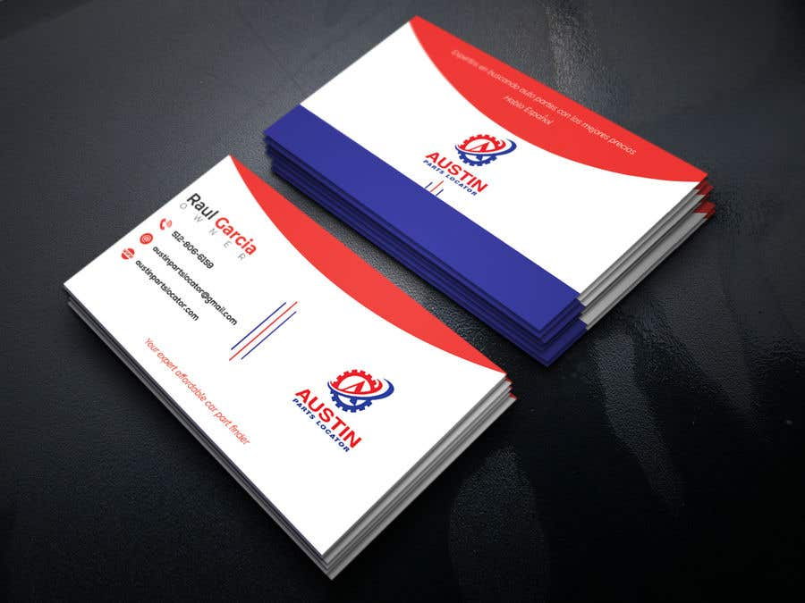 Konkurrenceindlæg #283 for Design Business Cards For Car Parts Company