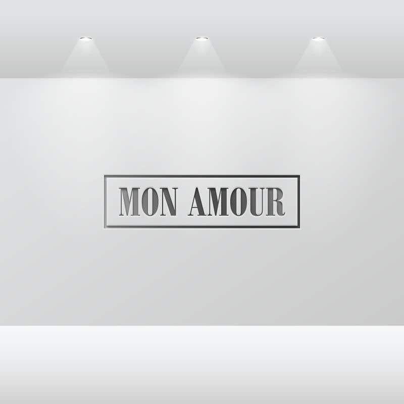 Entri Kontes #33 untukLogo design- MON AMOUR