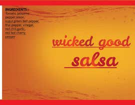 #8 for wicked good salsa label (has to be editable) by HmEmon0011