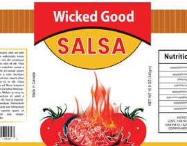 #1 for wicked good salsa label (has to be editable) by abwahid9360
