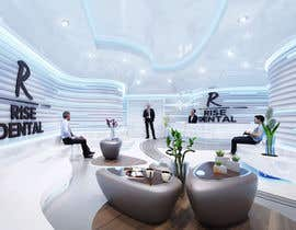 #44 for Design a 3D concept for Clinic reception by Yukselen
