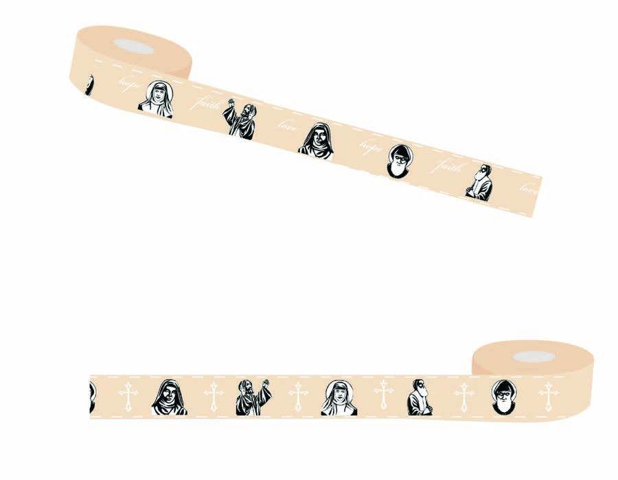Penyertaan Peraduan #4 untuk I need a ribbon design for gift wrapping