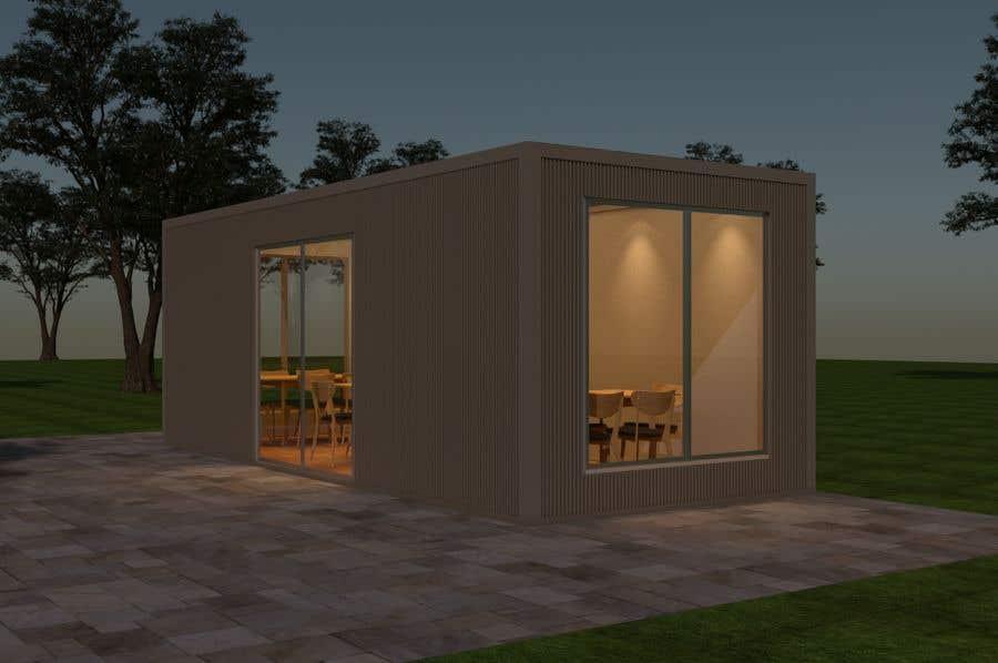 Kilpailutyö #7 kilpailussa 3D Set's Shelter/Roof design