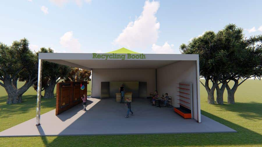 Kilpailutyö #3 kilpailussa 3D Set's Shelter/Roof design