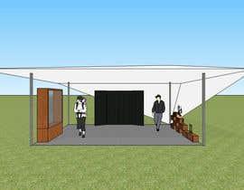 Nro 17 kilpailuun 3D Set's Shelter/Roof design käyttäjältä FajarIM