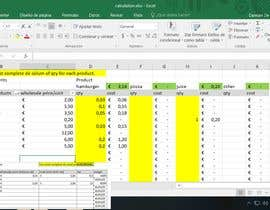 ddecristofolo tarafından Calculation Excel formulas and datasheet connection için no 5