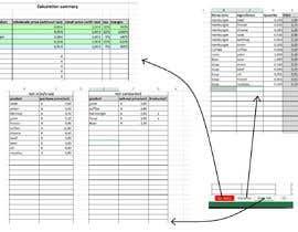 JaLukoVeliky tarafından Calculation Excel formulas and datasheet connection için no 11