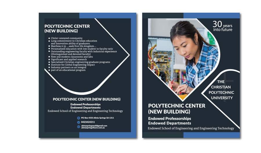 Penyertaan Peraduan #35 untuk College of Engineering Vision 2046 brochure Contest