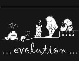 #49 untuk Illustration for T-Shirt: Evolution of a Poker Player (From Whale to Shark to Poker Player Using a Different Animals) oleh kesabk