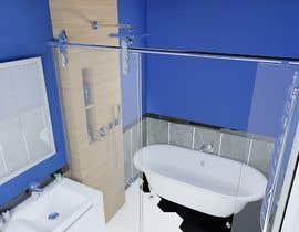 nº 24 pour Bathroom redesign par maxelf1367