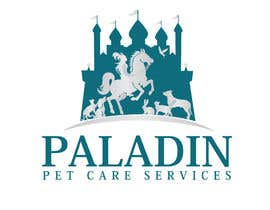#54 for logo for Paladin Pet Care Services. A Pet Sitting & Dog Walking business. Would like a female knight riding a horse to feature. Must also include a dog, a cat & other pets. Looking for a unique, sophisticated logo with a royal flavour. by flyhy