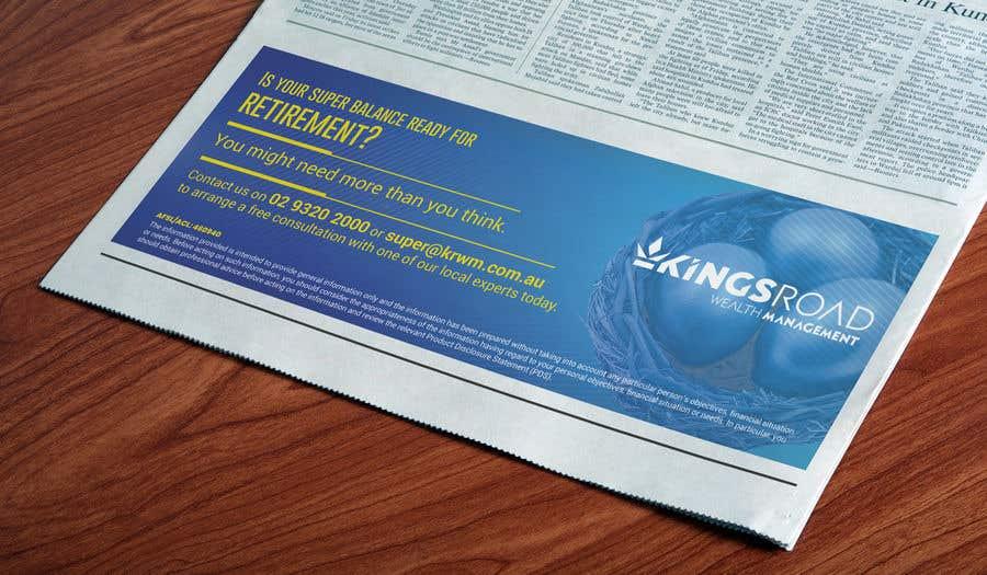 Penyertaan Peraduan #51 untuk Create a newspaper Ad
