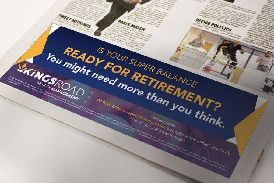 Penyertaan Peraduan #25 untuk Create a newspaper Ad