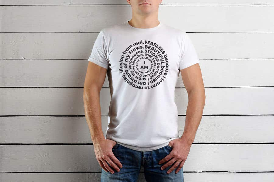 Kilpailutyö #8 kilpailussa I need a T-shirt design