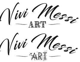 #49 for Logo for handmade creations by an Italian artisan - Vivi Messi Art by brightideasds