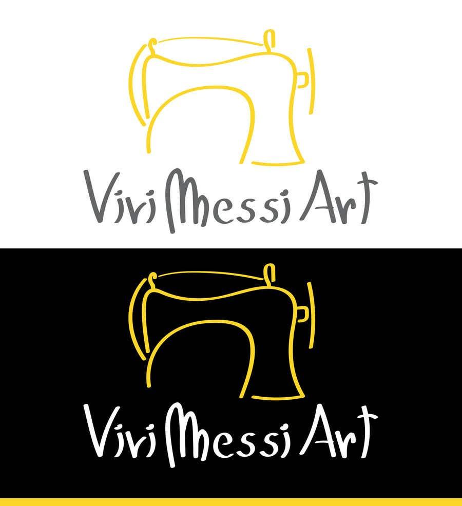 Contest Entry #35 for Logo for handmade creations by an Italian artisan - Vivi Messi Art