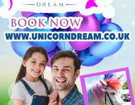 Nro 13 kilpailuun Multiple Facebook and Istagram adverts needed kids Unicorn Event käyttäjältä sapakolaki