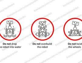 Nro 22 kilpailuun Create 4 Icons / warning symbols käyttäjältä nazarlazorenko