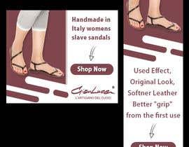 #25 para ADS Banner for shoes website: shop now! por alighouri01