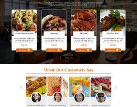 #93 untuk Design A Website and Logo For Restaurant oleh carmelomarquises