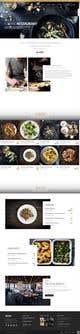 Миниатюра конкурсной заявки №5 для Design A Website and Logo For Restaurant