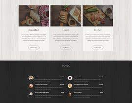 #118 untuk Design A Website and Logo For Restaurant oleh DesignerNV