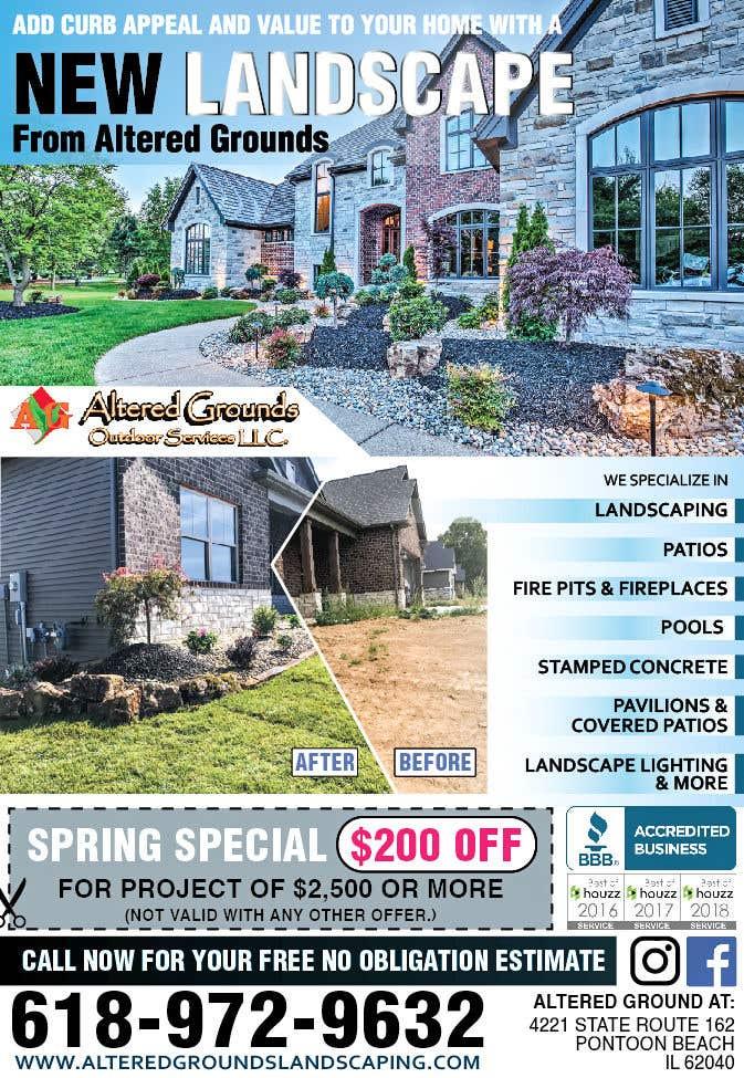 Конкурсная заявка №17 для Design Print Ad For Landscaping Business