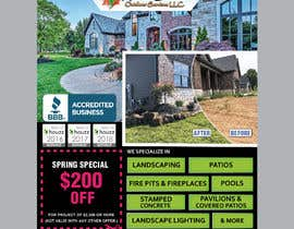 #25 for Design Print Ad For Landscaping Business by saurov2012urov