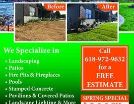 Nro 20 kilpailuun Design Print Ad For Landscaping Business käyttäjältä namrata134
