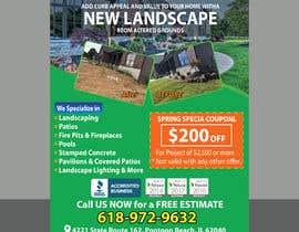 Nro 22 kilpailuun Design Print Ad For Landscaping Business käyttäjältä Sreesujitdeb