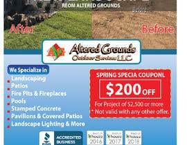 Nro 28 kilpailuun Design Print Ad For Landscaping Business käyttäjältä Sreesujitdeb