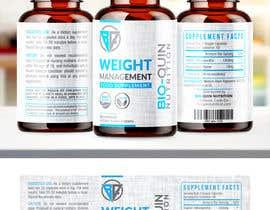 #63 untuk capsule bottle label design oleh melyaalaoui