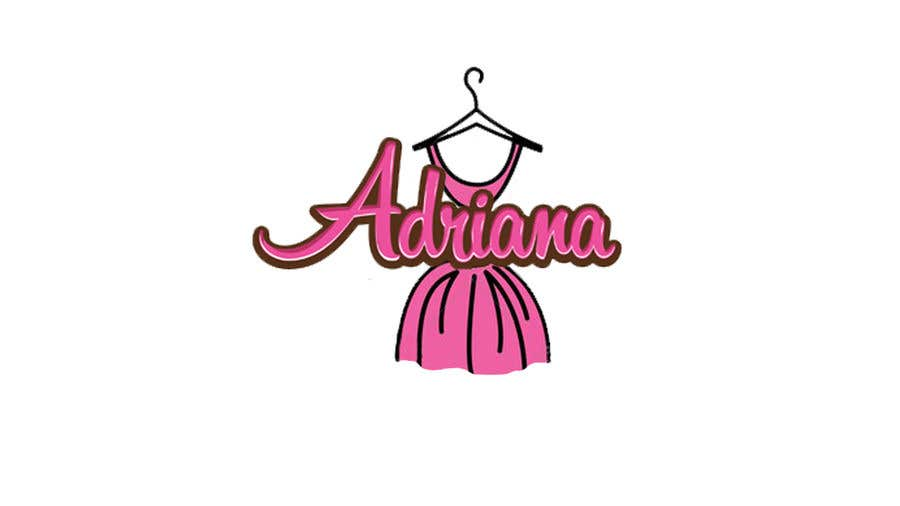 "Penyertaan Peraduan #2 untuk Design a logo for a Women Clothing Brand ""Adriana"""