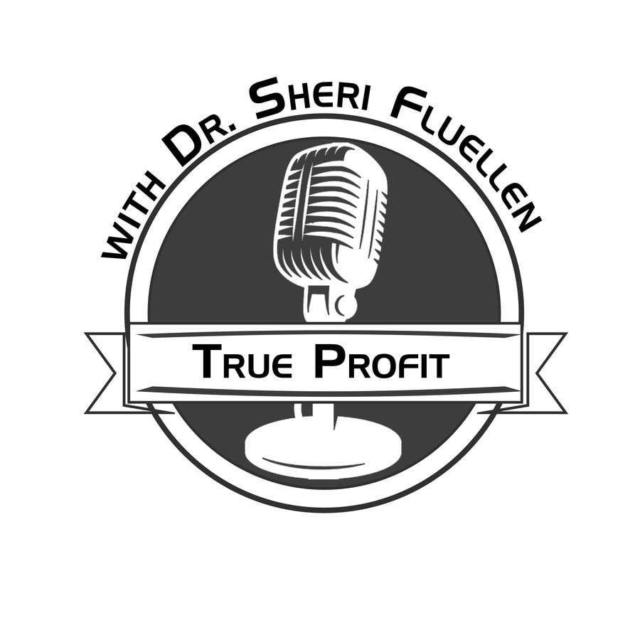 Penyertaan Peraduan #5 untuk True Profit Podcast Logo