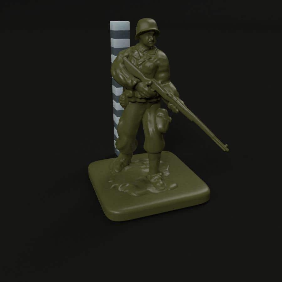 Inscrição nº 12 do Concurso para 3D Model Tiny Soldier Miniature