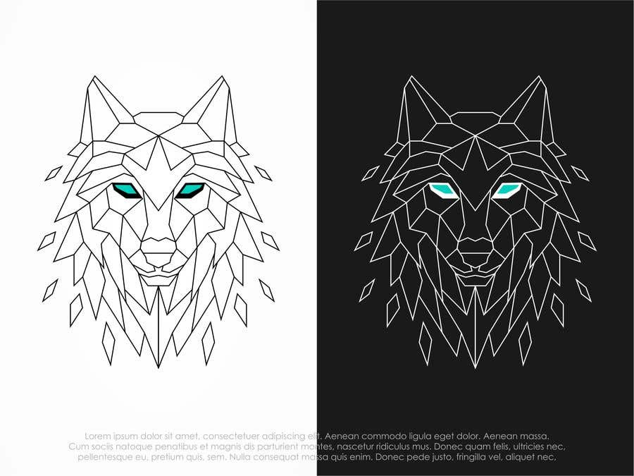 Kilpailutyö #105 kilpailussa Wolf Logo Design