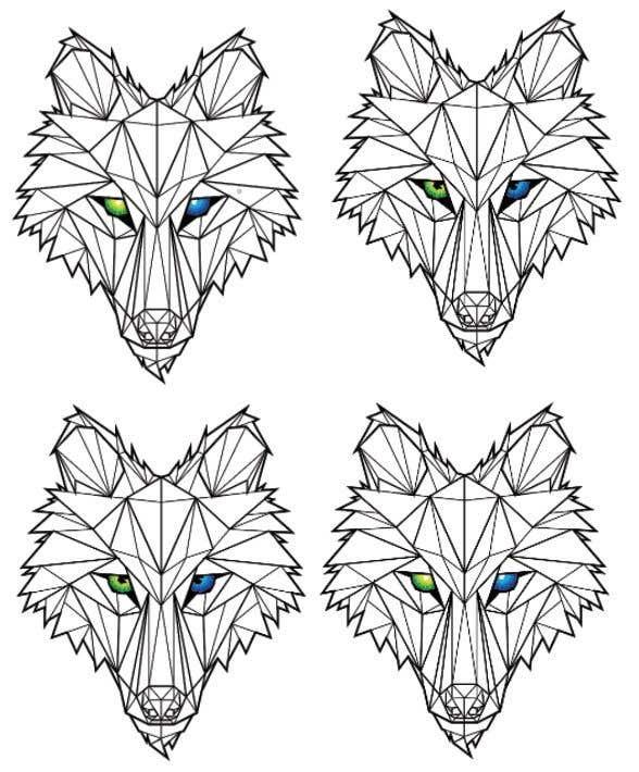 Kilpailutyö #202 kilpailussa Wolf Logo Design