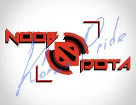 Nro 8 kilpailuun I need a new logo for my Youtube Channel (Noob DOTA) käyttäjältä KorvinPride