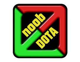 Nro 3 kilpailuun I need a new logo for my Youtube Channel (Noob DOTA) käyttäjältä GrottoDesign