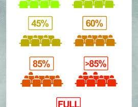 #68 untuk design seat occupancy icons oleh nubelo_KWkEGS0j