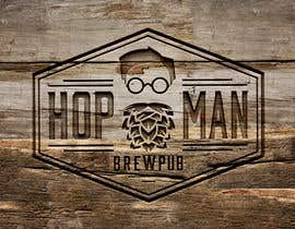 #20 pentru As you can see, we have a logo, but we need to change the slogan of it and some words. Instead of Hop Doc  - we want it to be Hop Man. And slogan should be Brewpub. If we will like your style - we will work a lot in the future! de către Rubelrds