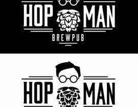 #10 pentru As you can see, we have a logo, but we need to change the slogan of it and some words. Instead of Hop Doc  - we want it to be Hop Man. And slogan should be Brewpub. If we will like your style - we will work a lot in the future! de către PSdesigner280