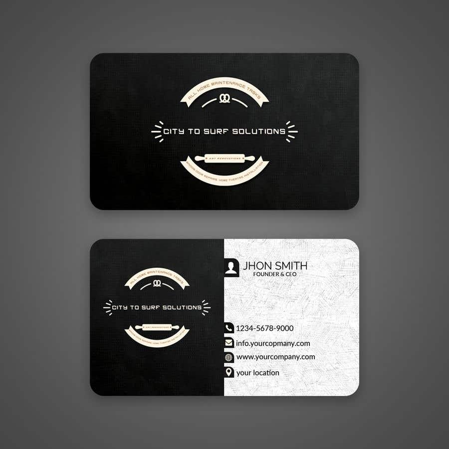 Конкурсная заявка №188 для Business card design